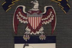 Honor Guard logo sticker on front of original album