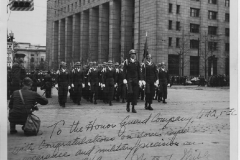 Field Review 6 Apr 1949 Army Day at the Dai Ichi Building signed thank you on the photo