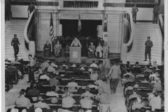 General MacArthur's speech returning city to people of Seoul Korea