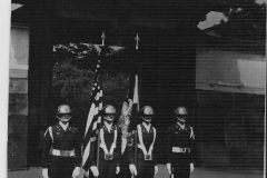 Honor Guard members - names unknown