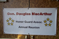 Honor Guard Reunion Welcome Sign