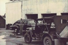 S-2 Cadillac. Major General Mueller's driver, Sgt. Dougherty. 1948
