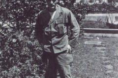 SFC. M. Dawson in his regular dress uniform.