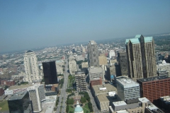 St Louis from the Arch