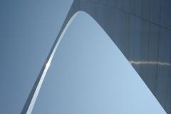 The Arch soaring skyward